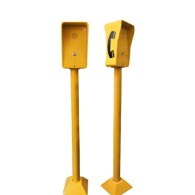 停车场一键对讲  立柱求助电话机  应急呼叫电话机