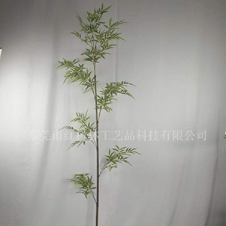 假竹子批发-仿真竹子-单支仿真竹-假竹叶厂家直销-东莞市红树林工艺品科技有限公司