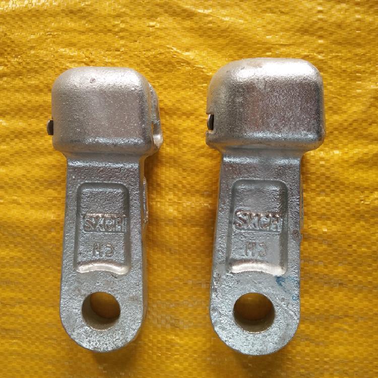 东茂电力器材厂家直销拉线路单联碗头W-7B连接绝缘子电力铁铸件热镀锌碗头挂板