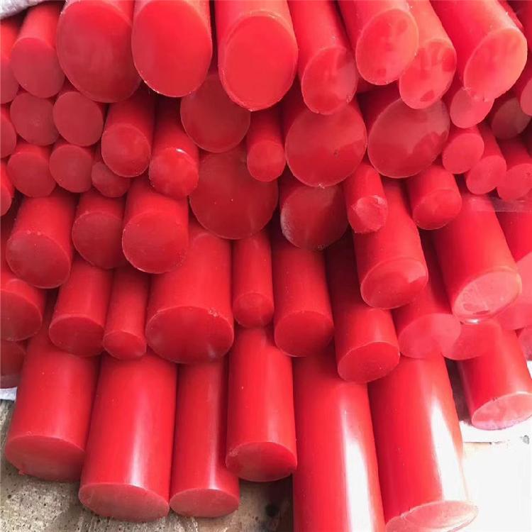 厂家直销优力胶棒 防震垫 PU棒板 减震高耐磨优力胶棒 聚氨酯板 弹性橡胶棒  PU棒板零切加工