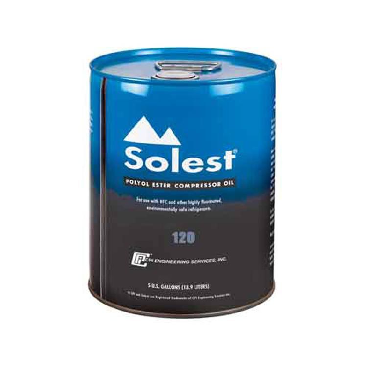 原装正品Solest 120冷冻机油R22螺杆机油中央空调专用油