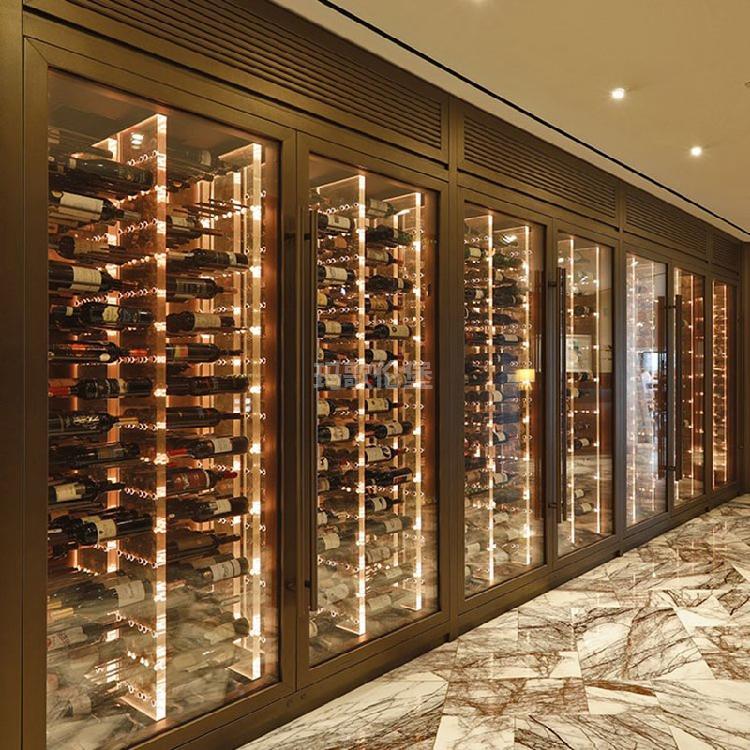 多功能酒柜-不锈钢组合酒柜-洋酒柜-展示酒柜-玛歌伦堡