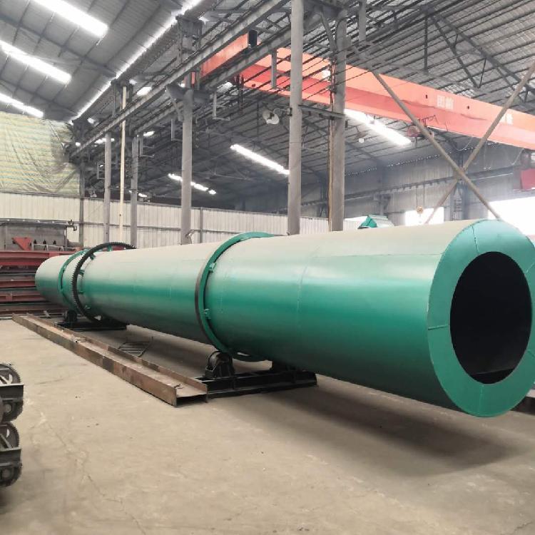 厂家 年产5000吨牛粪粉状有机肥生产线都需要哪些设备?  猪粪烘干机