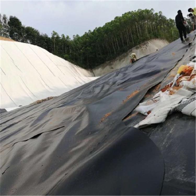 加强UV抗老化专用HDPE土工膜美标防渗土工膜厂家黑色土工膜 价格低廉