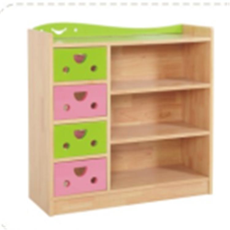 幼儿园木质柜子书架组合鞋柜玩具柜储物柜