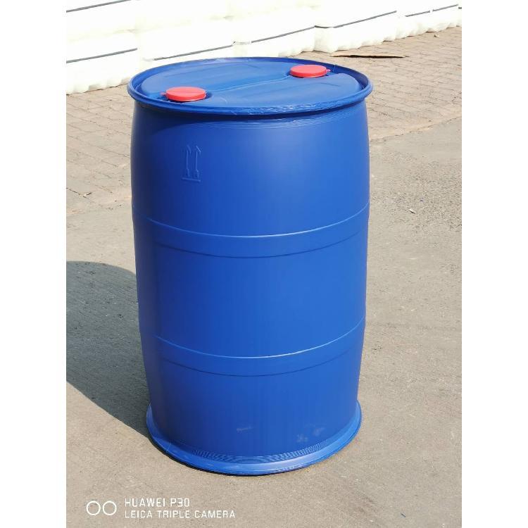 山东欣越塑业200升开口桶生产厂家 200kg耐酸碱化工桶  200升铁箍桶价格
