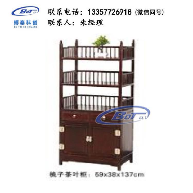 厂家直销 新中式家具 新中式茶叶柜实木柜 酸枝色系列 茶叶柜 刺猬紫檀 GF-85