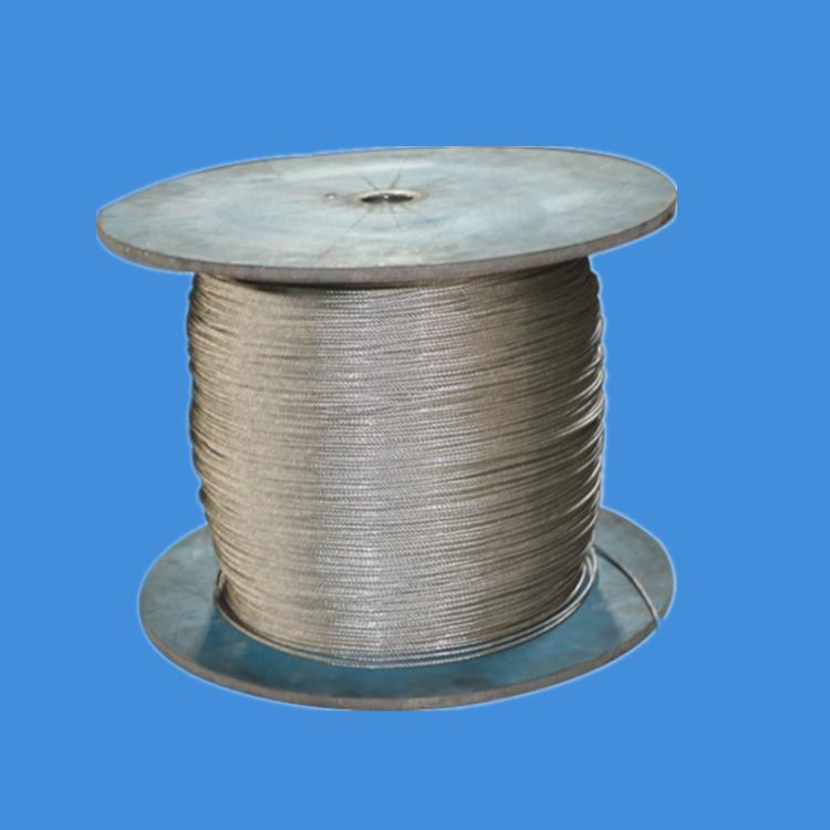 河北德力  彩钢房用钢丝绳厂家 彩钢房专用钢丝绳