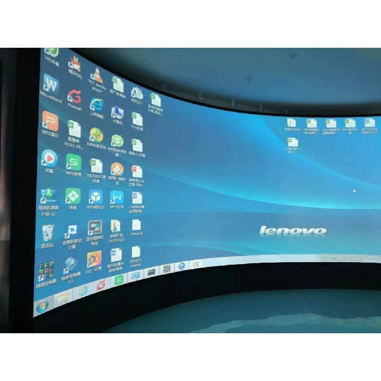 威斯克3D弧幕影院 金属幕布 画框布 球幕厂家直销