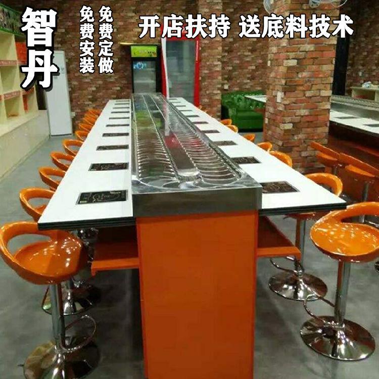 智丹 安徽旋转火锅_用气的回转设备_专业订制 广东回转自助火锅设备