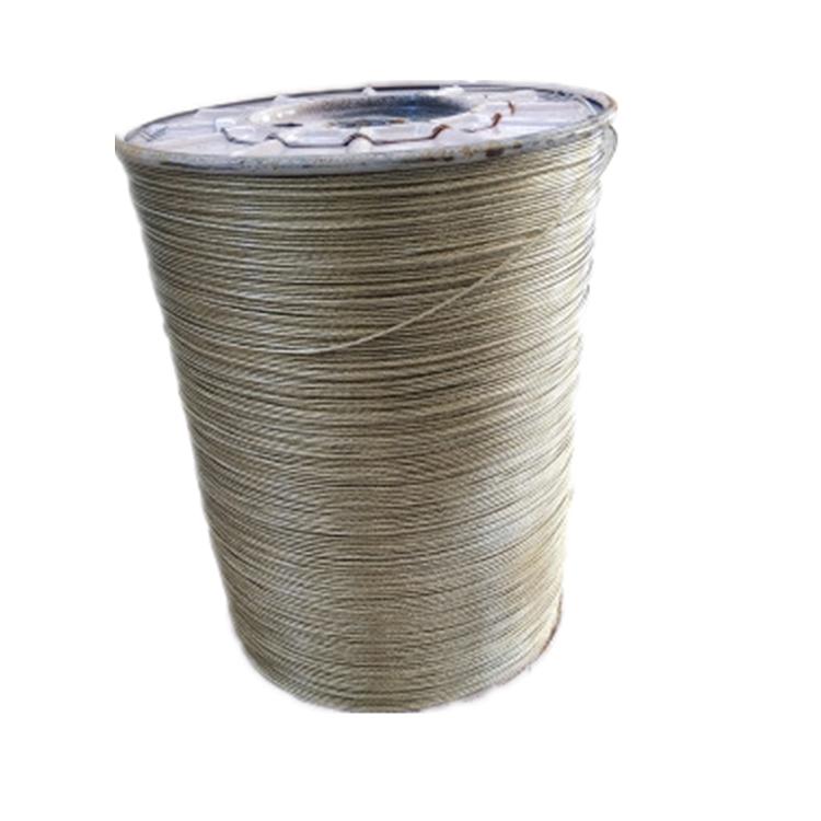 河北德力彩钢用钢丝绳 包塑钢丝绳 生产厂家