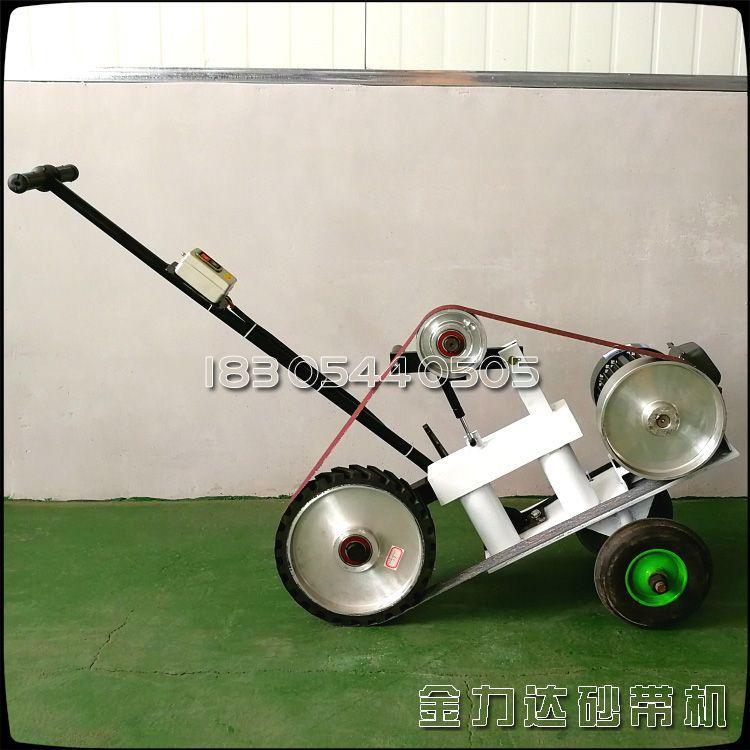 用于大尺寸钢板抛光 打磨焊缝焊道 多功能电动砂带打磨机厂家直销