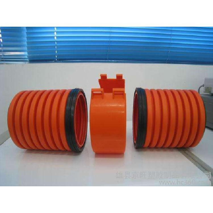 生产销售mpp单壁波纹管批发链接简便、密封性好、无渗漏mpp单壁波纹管批发