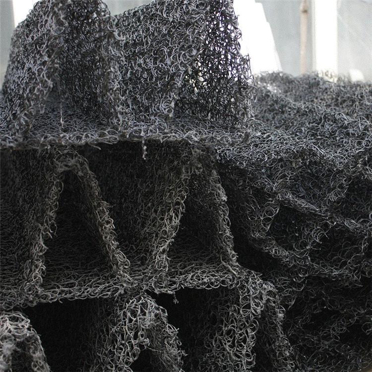 新型水处理立体网状生物填料 冷却塔网状填料生产厂家