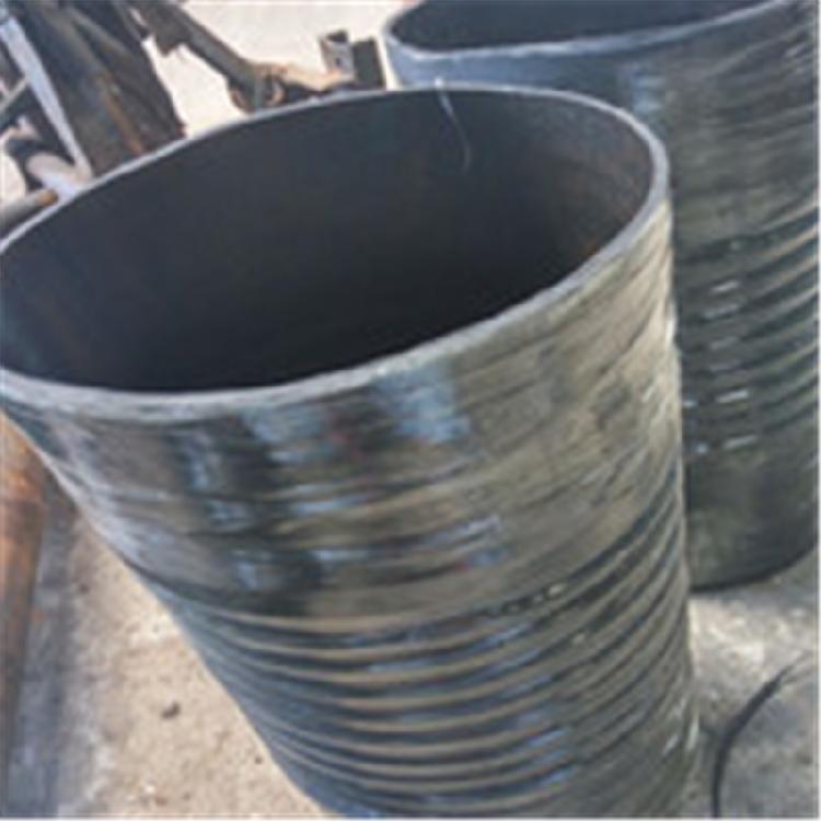 河北主营特种橡胶伸缩胶管 黑色橡胶大口径伸缩胶管 价格优惠