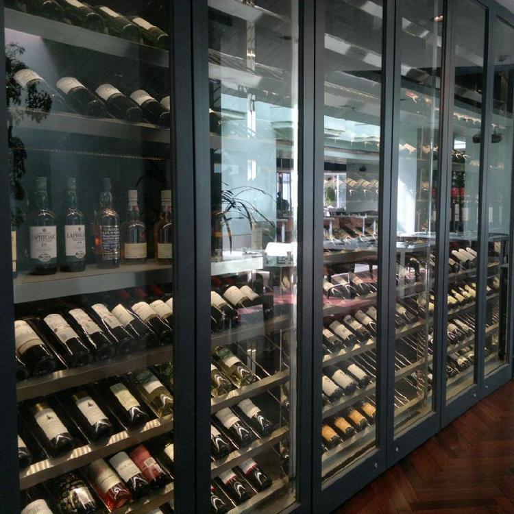 会所红酒柜-不锈钢红酒柜-欧式不锈钢酒柜-不锈钢恒温酒柜-玛歌伦堡酒柜