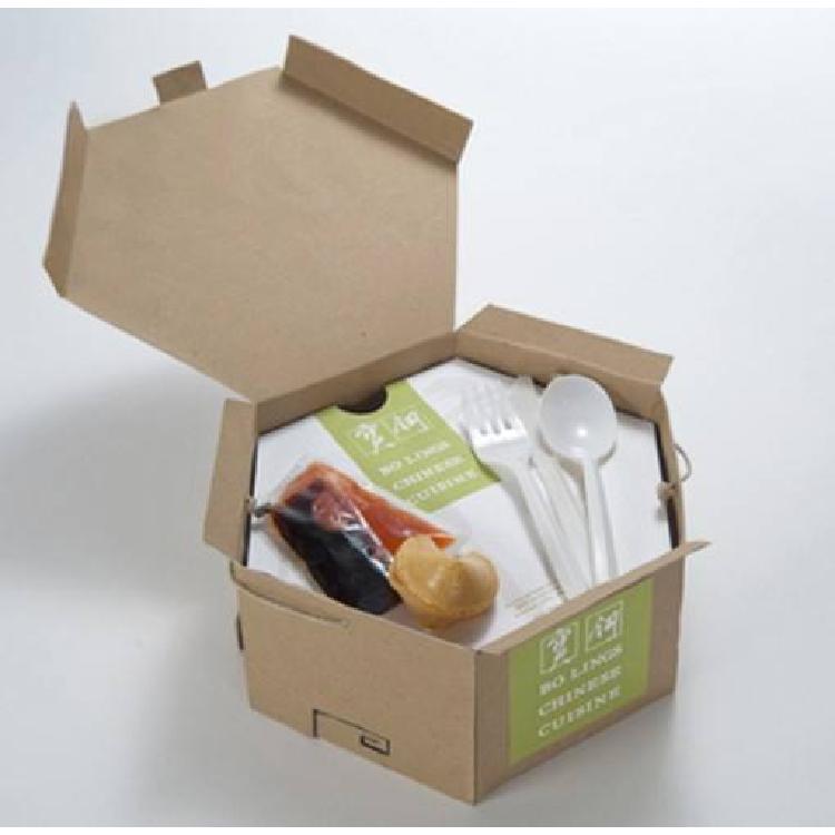 福州易企印包装 外卖纸盒定制 食品打包盒制作 外卖纸袋定做 牛皮纸碗设计