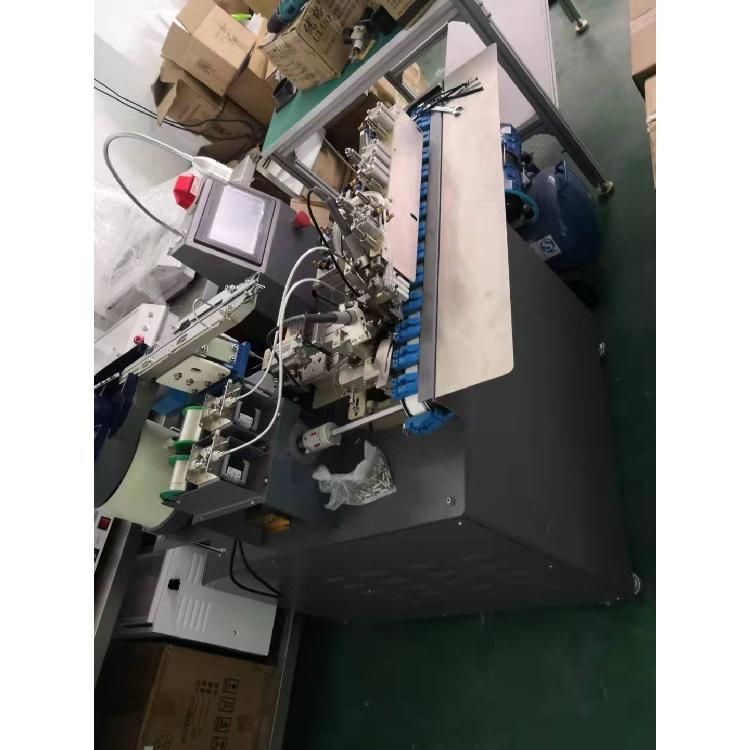 RCA莲花头自动焊锡机 DC头自动焊接机 音频线头全自动点焊机