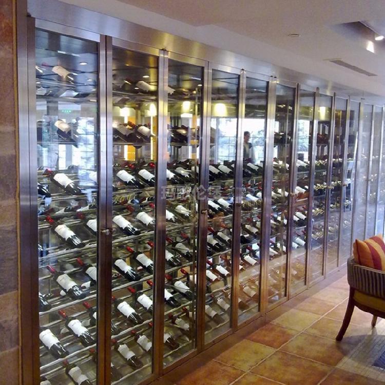 可定制不锈钢高端多功能酒柜-玛歌伦堡