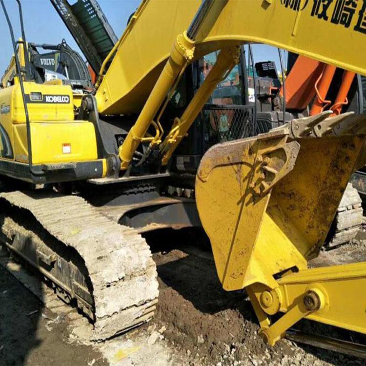 二手神钢210大黄蜂挖掘机