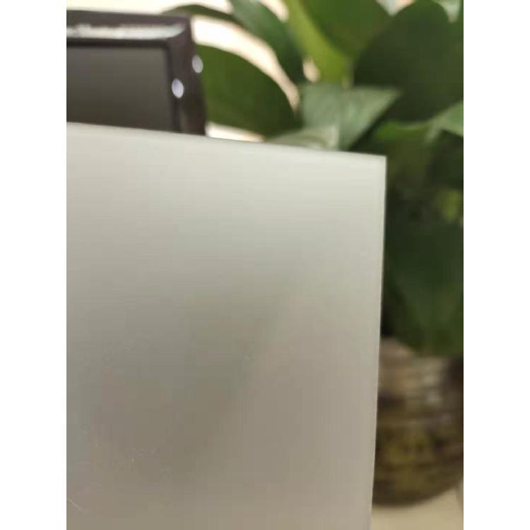 超薄PC光扩散板 0.5-1.5厚磨砂扩散板材料