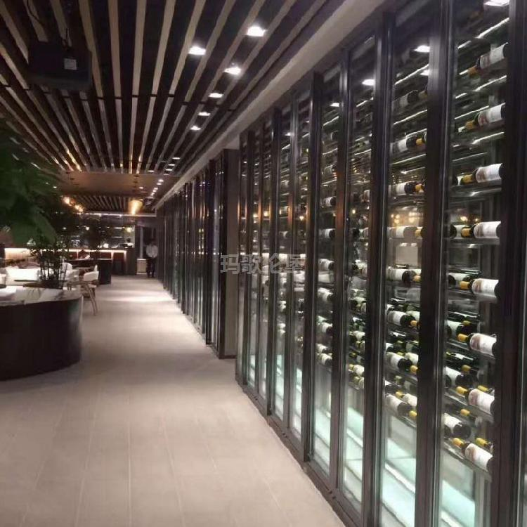 欧式酒柜-现代酒柜-餐厅酒柜-电子红酒柜-玛歌伦堡