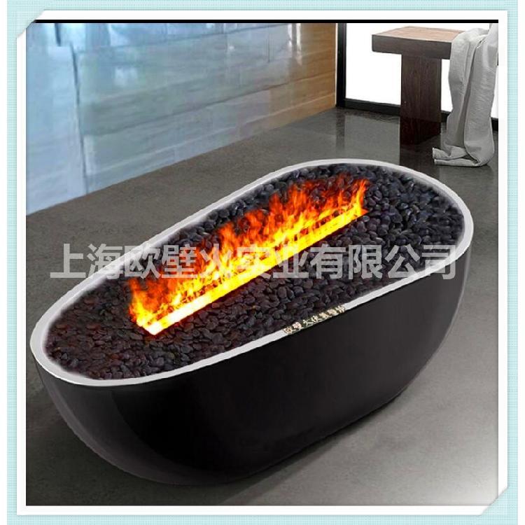 【上海欧壁火】 雾化壁炉3d 厂家批发 精品壁炉定制服务 伏羲电壁炉 壁炉设计服务