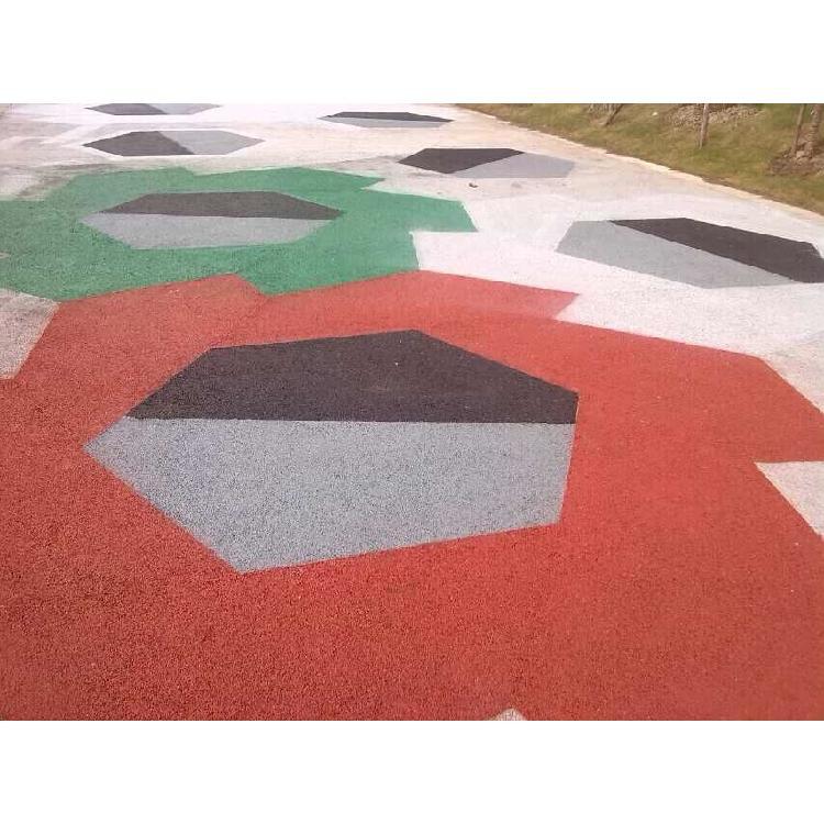 秀彩 南京透水混凝土 彩色透水混凝土材料 生产施工厂家  包工包料 工厂含税价
