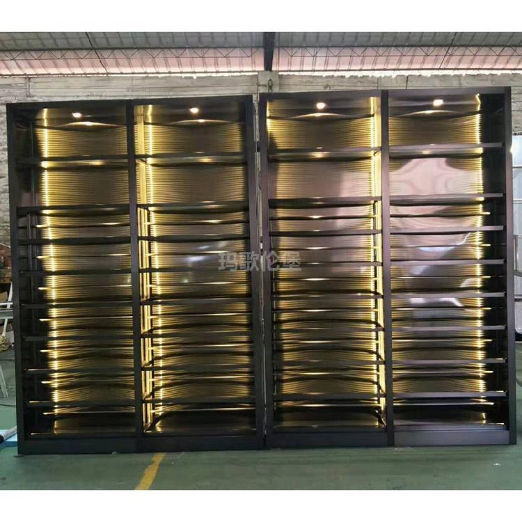 恒温酒柜-不锈钢红酒柜-不锈钢恒温酒柜-不锈钢酒柜-玛歌伦堡酒柜