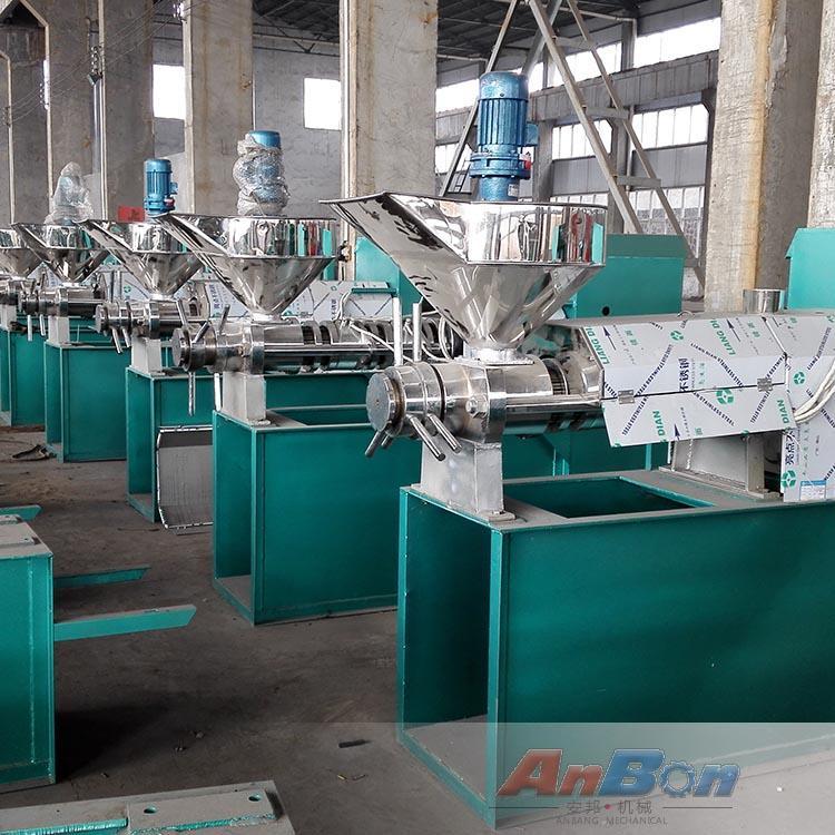 螺旋菜籽榨油机厂家 家用小型榨油机