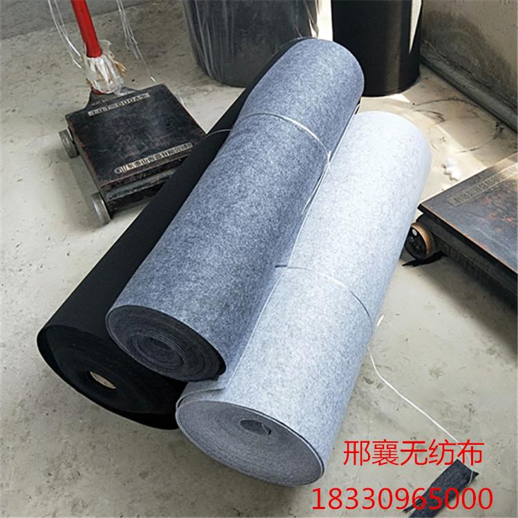 兰州市工厂直销大化化纤毛毡 涤纶化纤毡 工业漂白毛毡 定做涤纶化纤无纺布