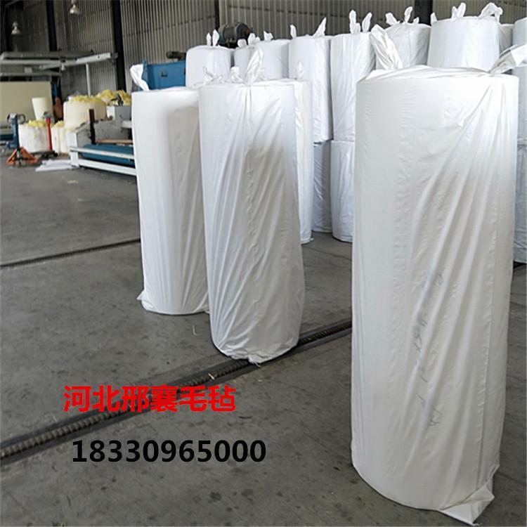 乌兰察布市工厂直销大化化纤毛毡 涤纶化纤毡 工业漂白毛毡 定做涤纶化纤无纺布