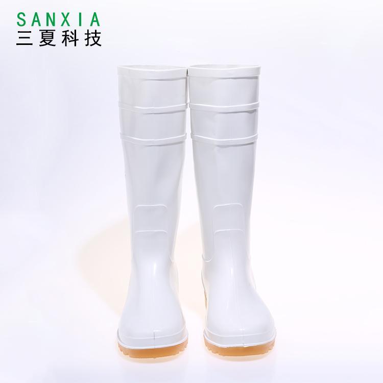 朗莱斯特 食品雨鞋 防油 防水 防滑 耐酸碱橡胶高筒雨靴防水鞋