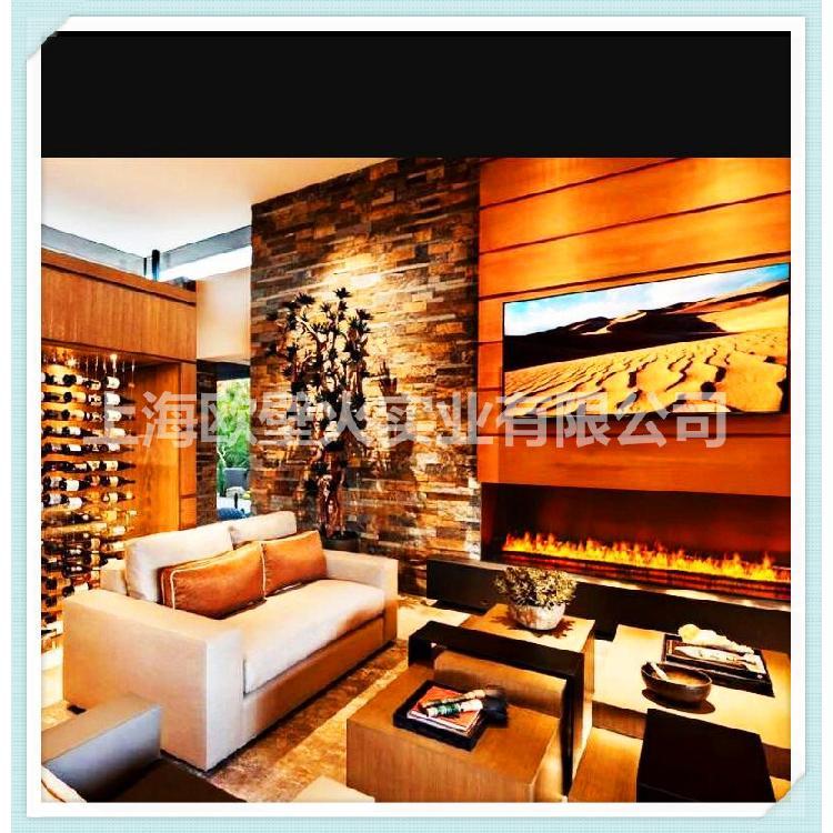 【上海欧壁火】壁炉仿真火焰厂家订做环保嵌入式 装饰壁炉 美式客厅装饰壁炉 仿真火焰欢迎咨询