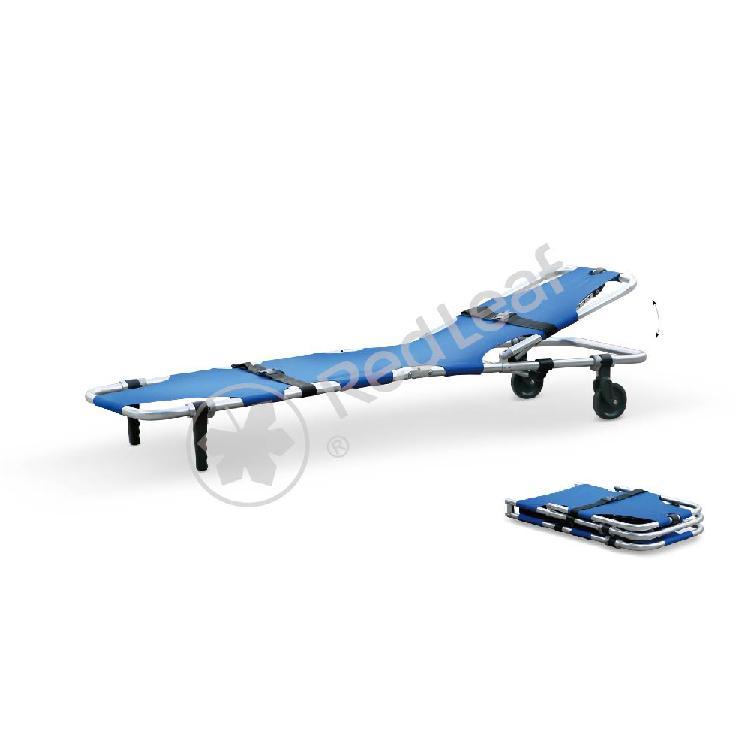 江苏日新医疗设备 厂家直销 折叠急救担架系列 折叠支架和脚轮支架重量轻且坚固耐用