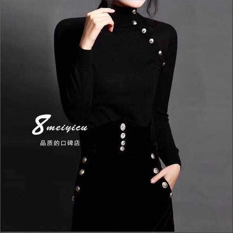 薇姿曼19年春装美丽诺羊毛衫