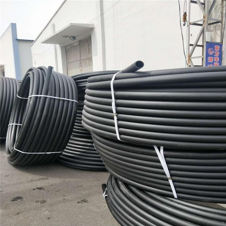 腾达 供应 淄博PE穿线管 厂家促销PE实壁穿线管