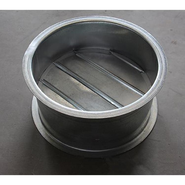 烟气管道专用风管法兰止回阀   圆形止回阀厂家   鲁德润博