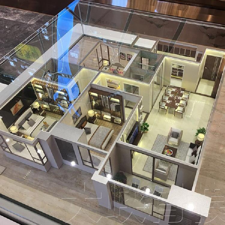 定做房屋户型模型-小区户型模型-售楼部沙盘造型-
