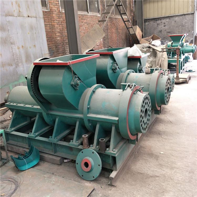 腾航机械无烟环保兰炭制棒机 增碳剂活性炭型煤制棒机