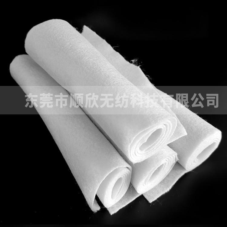 东莞顺欣  供应优质100G服装填充用针刺棉       针刺棉生产厂家