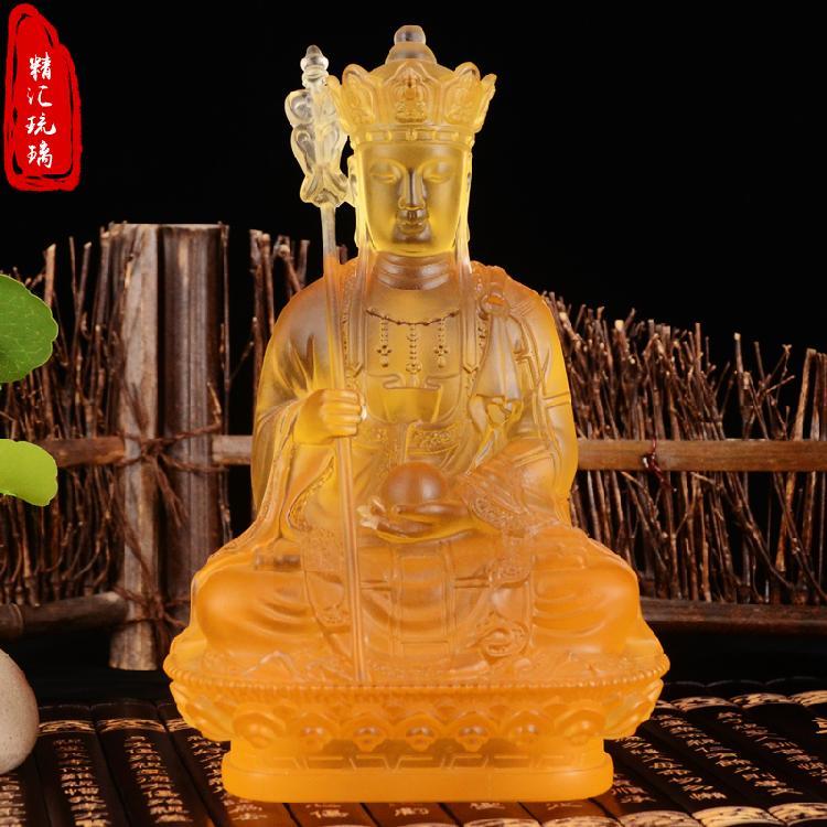 寺庙琉璃万佛墙定做,古法琉璃佛像厂家,药师佛,地藏王菩萨