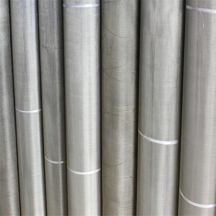 热销不锈钢丝网编织过滤网防水金属印刷丝网塑料机用304钢丝筛网