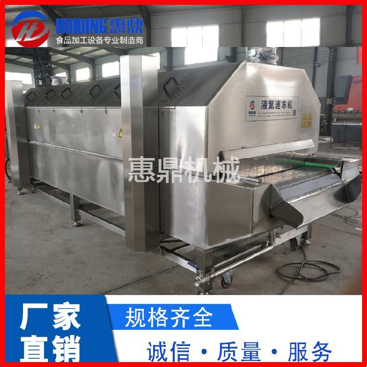 隧道式液氮速冻机厂家/惠鼎蔬菜速冻隧道机供应