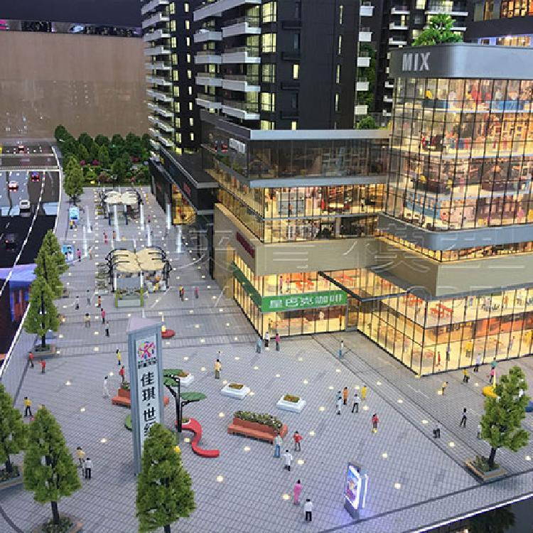 微景观房子建筑模型 商业和单体建筑 城市区位模型 厂家直销 质量保证