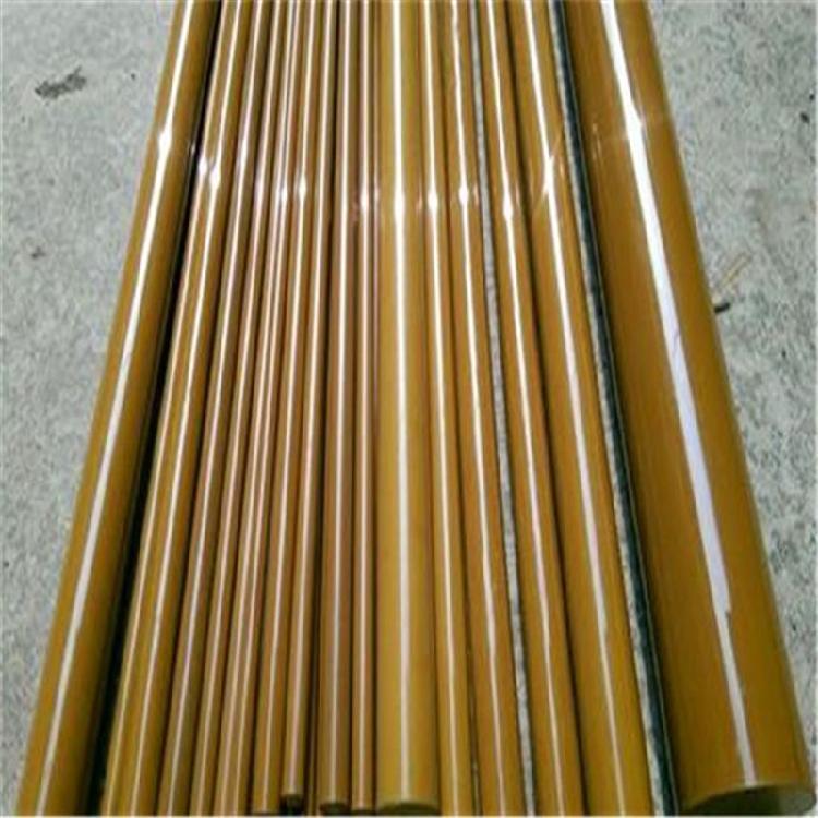 美国杜邦原装进口 耐高温PAI棒 聚酰亚胺棒  TORLON 4203 PAI棒(黄褐色)