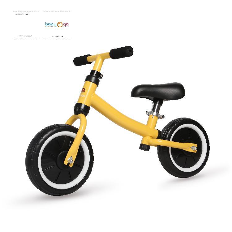 英国BabyGo儿童平衡车1-3-5岁无脚踏滑步锻炼平衡培养自信