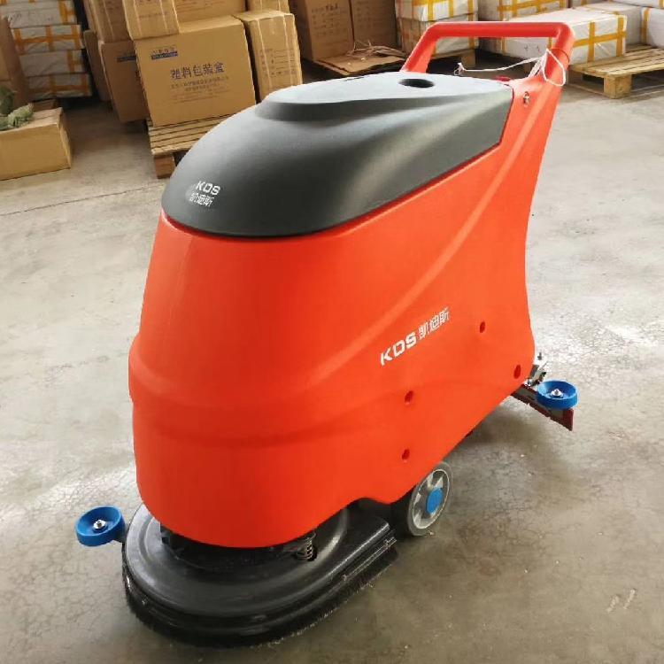 上海电瓶式全自动洗地机征翔 ZX-2 手推式洗地机商用洗地机厂家直销价格