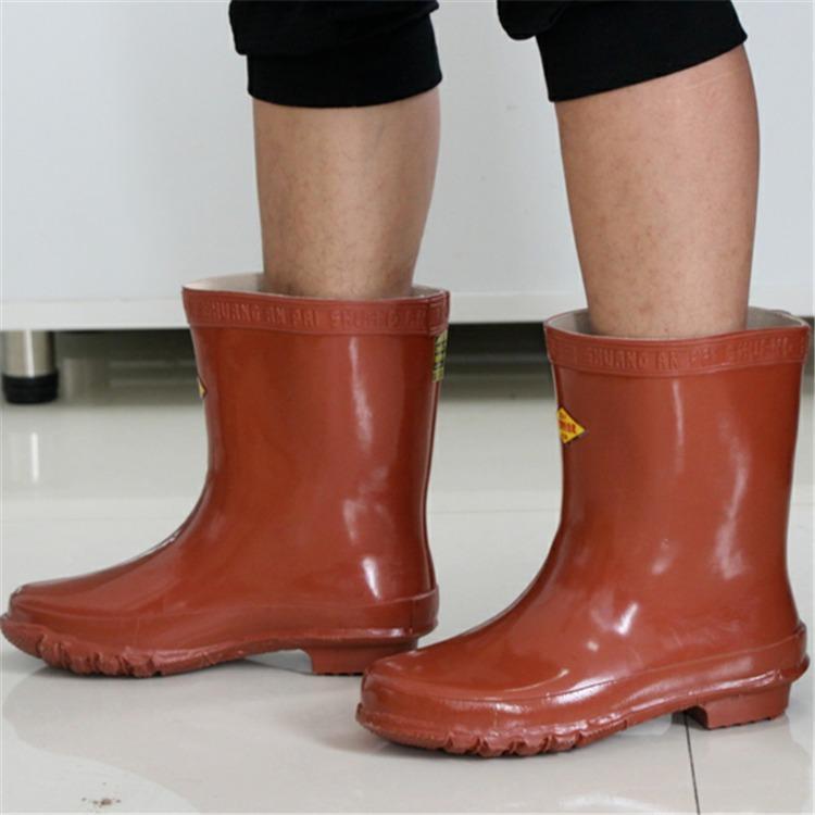 河北龍海電力 供應絕緣靴 電工高壓絕緣靴 防水防油勞保電力靴