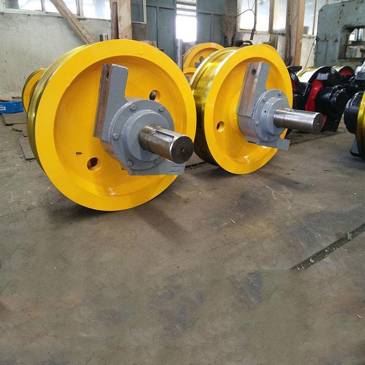 现货供应    中原重工   起重机车轮组  车轮组   价格优惠